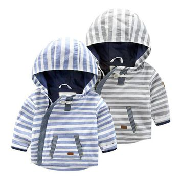 Cute Baby Coat Spring 2017 boys girls Warm Hooded Jacket Toddler Girl Clothing Kids Girl Clothes Outwear coats RA5