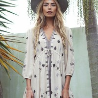 Stargazer Mini Dress | Neutral Combo | Free People – The Freedom State