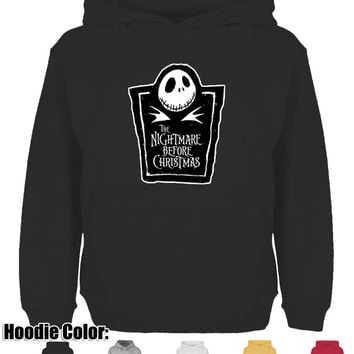 Cool The Nightmare Before Christmas Design Hoodie Men's Boy's Women's Girl's Lady's Winter 100% Cotton Sweatshirt Tops Alternative Measures