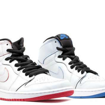 spbest Air Jordan 1 SB  Lance Mountain  White