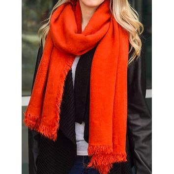 Persimmon Perfection Scarf