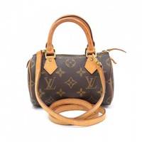 Louis Vuitton Mini Speedy Sac HL Monogram Canvas Hand Bag + Strap