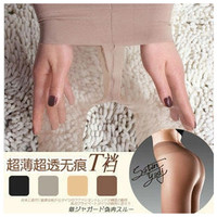 W778 T Crotch Sexy Full Foot Women's Long Stockings thin Semi Sheer Tights Pantyhose Panties free ship 4 colors