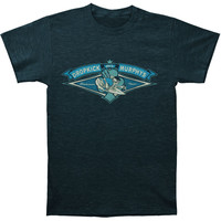 Dropkick Murphys Men's  Summer Tour 2013 Limited Edition T-shirt Blue Rockabilia