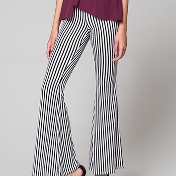 Winona Striped Flair Pants