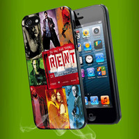 Rent Broadway Musical poster for iPhone 4, iPhone 4s, iPhone 5, Samsung Galaxy S3, Samsung Galaxy S4 Case