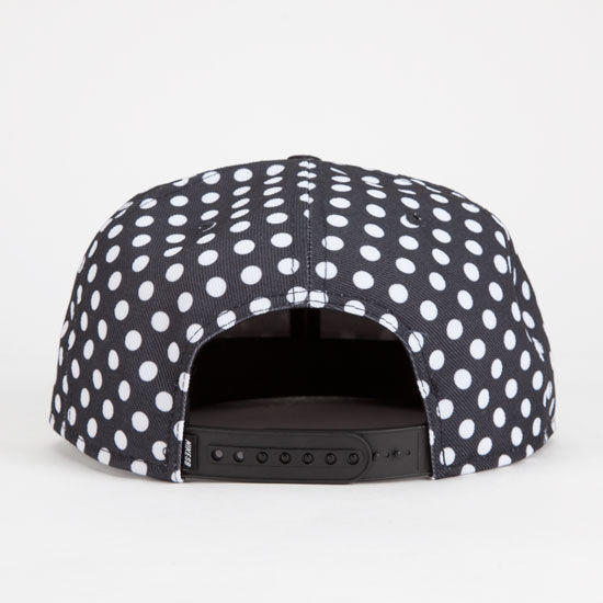 Nike Sb Polka Dot Icon Mens Snapback Hat Black One Size For Men 24885910001 5f7ff6faa15
