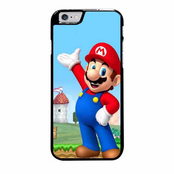 mario and princess peach right iphone 6 plus 6s plus 4 4s 5 5s 5c 6 6s cases