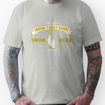 Free! Iwatobi Swim Club Shirt (Nagisa, Treasurer) yellow Unisex T-Shir