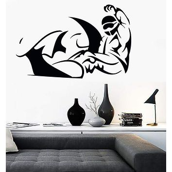 Vinyl Decal Wall Stickers Snowboard Winter Exteme Sport Olympic Games (z1661)
