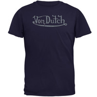 Von Dutch - Logo Blue T-Shirt