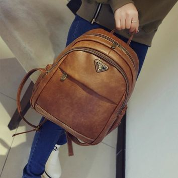Back To School Comfort On Sale Stylish College Hot Deal Vintage England Style Casual Backpack [6582315783]