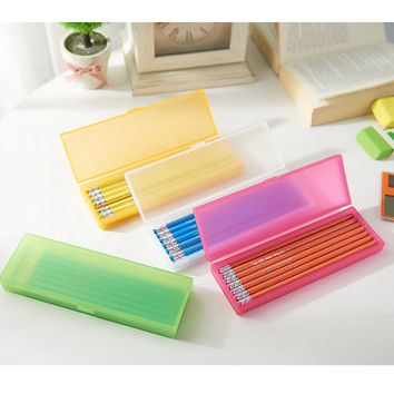 Children Box Transparent Innovative Pen Multi-function Stationary [11649151439]