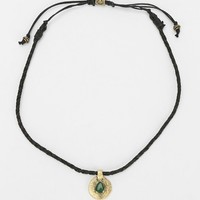 Metal Coin Cord Necklace - Urban Outfitters