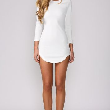 HelloMolly | Smoothie Dress White