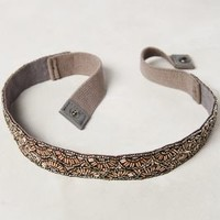 Daisy Petals Belt by Anthropologie Silver