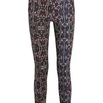 Isabel Marant - Nephi printed stretch-cotton skinny pants