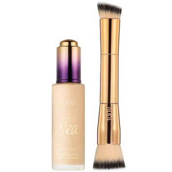 tarte Rainforest of the Sea Water Foundation with Brush - A266406 — QVC.com