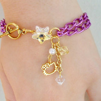 Hello Kitty Star Charm Bracelet