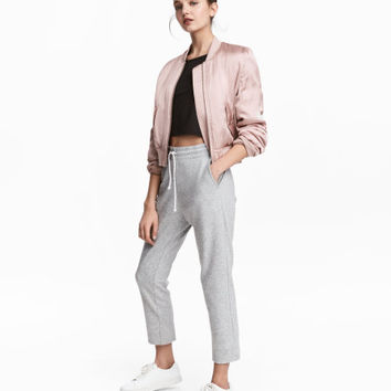 Cropped Sweatpants - from H&M
