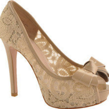 Joan & David Cutie - Natural Snake Leather - Free Shipping & Return Shipping - Shoebuy.com