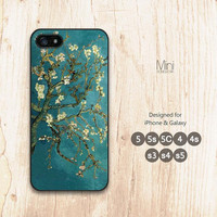Retro Van Gogh Flower, iPhone 5 case, iPhone 5s case, iPhone 5C case, iPhone 4 case, iPhone case, Galaxy s5 case, Galaxy s4 s3 case