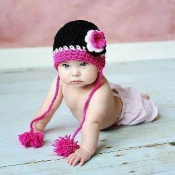 PDF Glamour Girl Beanie Crochet PATTERN All sizes by RAKJpatterns