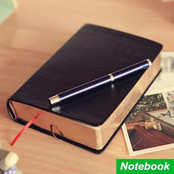 Vintage Thick  Bible Notebook / Leather Agenda