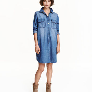 H&M Denim Shirt Dress $39.99