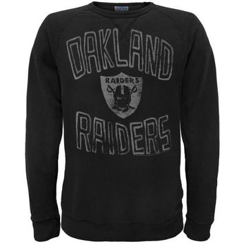 PEAPGQ9 Oakland Raiders - Logo Crew Neck Sweatshirt