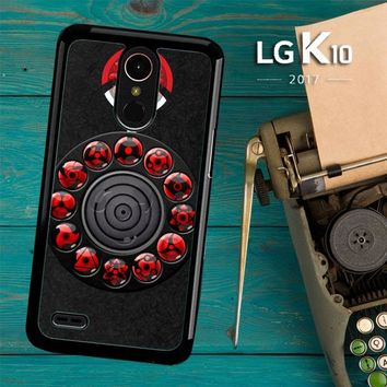 Sharingan Circle And Rinnegan Z2159 LG K10 2017 / LG K20 Plus / LG Harmony Case