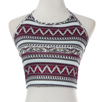 Womens Boho Halter Tops - The 70's Called - Free Shipping
