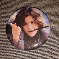 retro style Allison the Breakfast Club movie pin 2-1/4inch pinback button hand pressed badges  80s 1980s movie buttons