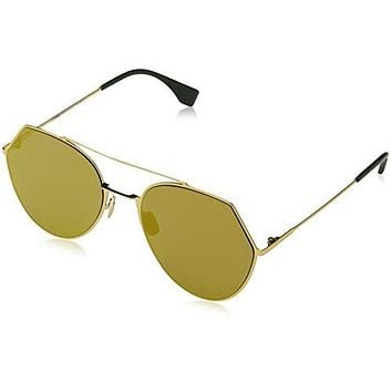 Fendi FF0194/S 183 55mm Gold / Gold Sunglasses