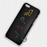 Pokemon Symbols Pikachu - iPhone 7 6 Plus 5c 5s SE Cases & Covers #cartoon #pokemon