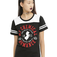 My Chemical Romance Girls Football T-Shirt