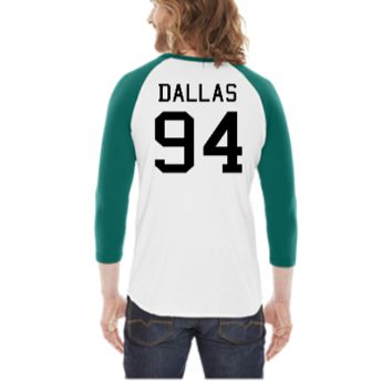 Cameron Dallas 94	 -  3/4 Sleeve Raglan Shirt