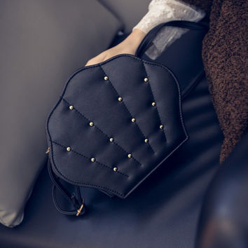 Stylish Rivet One Shoulder Vintage Bags Messenger Bags [6582269319]