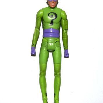 "Batman Dark Knight gift Christmas DC Universe Batman Classics 1966 Tv Series Riddler 6"" Loose Action Figure AT_71_6"