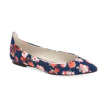 Women's Bettye by Bettye Muller 'Pedigree' Pointy Toe Ballet Flat,