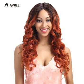 Noble Wavy Lace Front 26 Inch Wigs
