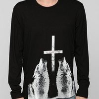 Profound Aesthetic Wolf Long-Sleeve Tee - Urban Outfitters