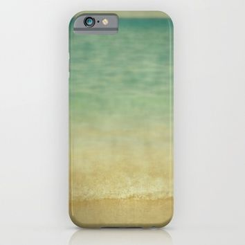 blurred waves iPhone & iPod Case by ARTbyJWP