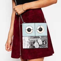 ASOS Robot Cross Body Bag
