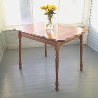 Kitchen Table, Dining Table, Farm Table,  Solid Oak