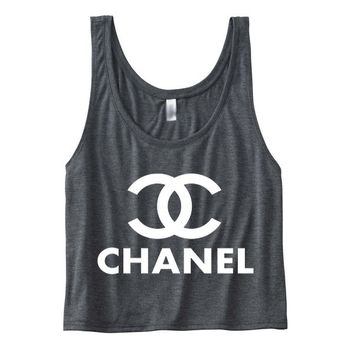 Chanel Top Women's Flowy Boxy Tank
