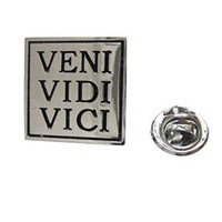 Veni Vidi Vici Lapel Pin [Jewelry]