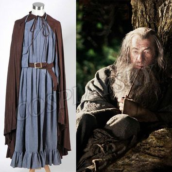 The Lord of the Rings The Fellowship of the Ring Gandalf Costume Set