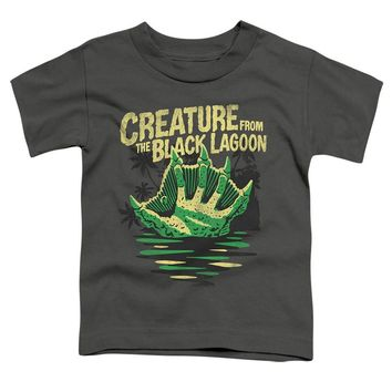 Creature from the Black Lagoon Toddler T-Shirt Hand Charcoal Tee