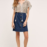 Pilcro Denim Skirt